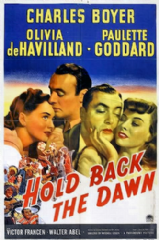 Hold Back the Dawn 1941 DVD - Charles Boyer / Olivia de Havilland